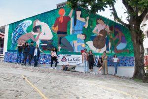 "Develación de Mural ""Grandes Ideas, Futuros posibles"""